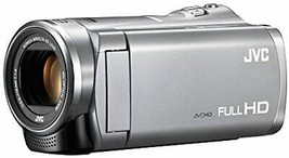 JVC Everio 8GB Built-in Memory Full HD Camcorder GZ-E880 Silver - $387.14