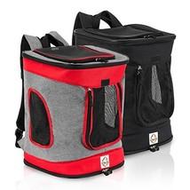 Heavy Duty Pet Carrier Backpack - Lightweight & Ergonomic (Medium|Black) - $69.23