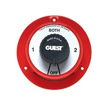 Guest 2100 Cruiser Series Marine Battery Selector Switch with Alternator... - $46.37