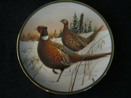 RING-NECKED PHEASANT collector plate JIM KILLEN North American Game Birds - $45.00