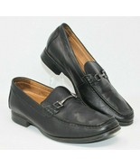 Abeo Bio System Size 11 Black Slip On Leather Loafer Dress Comfort Shoes... - $37.99