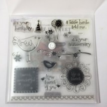 Life is Tweet S1206 Close to My Heart My Acrylix Stamp Set Birds - $9.74