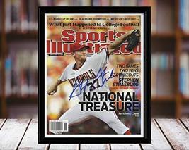 Stephern Strasburg Sports Illustrated Autograph Replica Print - National... - $36.99
