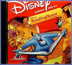 Disney's Reading Quest with Aladdin - $3.99