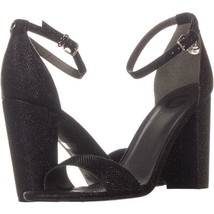 G by GUESS Shantel Ankle-Strap Sandals 466, Black, 10 US - $19.19