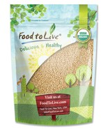 Food to Live Certified Organic Amaranth Grain (Whole Seeds, Non-GMO, Bulk) (3 Po - $13.98