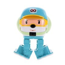 control robots toys intelligent entertainment rc robot toy two control modes led light thumb200