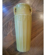 """Old Vintage Red Wing Art Pottery Egyptian Vase Yellow 9 1/4"""" Home Decor ... - $149.99"""