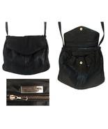 Vintage Bottega Veneta Black Python Snakeskin Shoulder Bag - $325.00