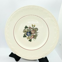 Pembroke Corinthian Wedgwood 1 Dinner Plate Strawberry & Floral Embossed... - $13.55