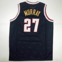 New JAMAL MURRAY Denver Blue Custom Stitched Basketball Jersey Size Men'... - €44,74 EUR