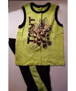Nickelodeon Teenage Muntant Turtles  Boys  3 Piece Short Outfit  Size 7  - $15.99