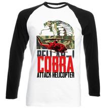 Bel AH1 Cobra - New Black Sleeved Baseball Cotton Tshirt - $26.97