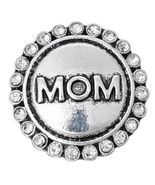 10pcs/lot New Snap Jewelry MOM NANA BFF BLESSED Love Round Metal 18MM Sn... - $12.75