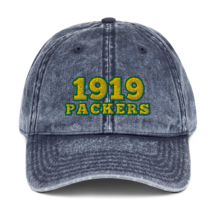 Packers hat / 1919 hat / packers Vintage Cotton Twill Cap image 2