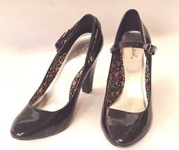 Qupid Black Patent High Heels Size 10 - $24.70