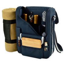 Picnic At Ascot Bordeaux Wine and Cheese Tote with Blanket - $77.01