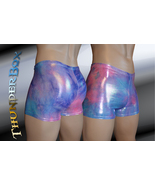 Purple/Pink Tyedye Mystique Hologram Nylon Spandex Mens, Womens Gladiato... - $25.00