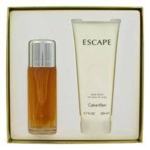 Calvin Klein Escape 3.4 Oz Eau De Parfum Spray Gift Set image 1