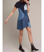 Anthropologie M.i.h Patchwork Marten Dress $545 Sz M - NWT - $158.39