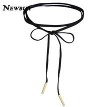 Fashion Long Black Velet Choker Necklace Women Collar Necklaces Chokers ... - $7.99