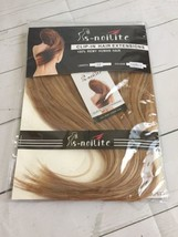 """s-noilite Clip in 100% Remy Human Hair Extensions 12""""  Blonde Highlights - $24.50"""