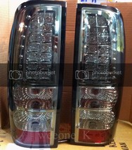 DEPO TAIL REAR LED LIGHT LAMP SMOKE LENS FOR ISUZU DMAX D-MAX PICKUP 200... - $169.29