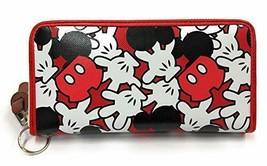 Disney Wallet Wallet Long Mickey Unisex Cute DMK-WLT03 Limited Japan - $53.28