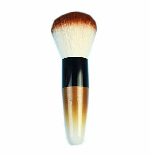 Pro Round Foundation Brush Super Soft Hair, Brown
