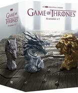 Game Of Thrones - The Complete Series Seasons 1 2 3 4 5 6 7 New DVD Box ... - $62.00