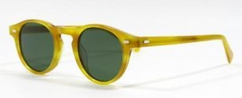 Oliver Peoples Gregory Peck OV5186 Yellow Brown Sunglasses 45mm New Auth... - $296.95