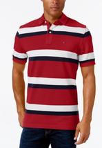 Tommy Hilfiger Men's Ace Striped Polo, Size M, MSRP $59 - $34.64