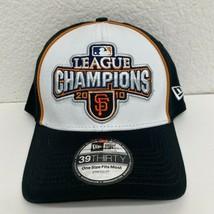 San Francisco Giants Baseball Hat Men's One Size League Champions 2010 N... - $9.46