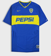 Boca Juniors home soccer jersey #10 IARLEY (2003 season) - $55.00