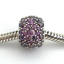 Authentic Pandora Shimmering Droplets, Fancy Purple CZ Charm, 791755CFP, New - $65.82