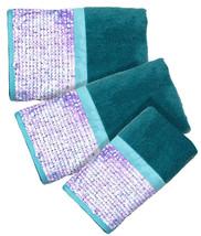 Tammi Aqua - 3-Piece Popular Bath Bathroom Pool, Hand, Wash Towel Set - $29.99