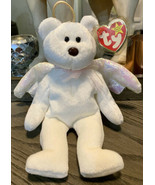 Halo the Bear TY Beanie Baby RARE - 1998 w/Tag Errors * Brown nose *  - $1,840.00