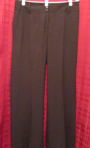 Ann Taylor LOFT brown Marisa fully lined women's dress pants w/cuffs tag... - $16.50