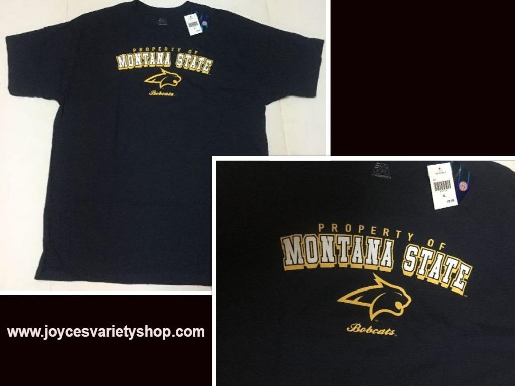 Montana bobcats web tshirt collage