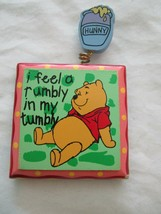 Wdw Disney Vintage Winnie The Pooh Magnet I Feel A Rumbly In My Tumbly - $9.99