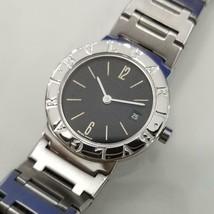 Ladies Bvlgari BB 26 SS 26mm Quartz w/Date Dress Watch c.2000s Swiss JAC13 - $1,386.00