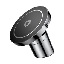 Qi Wireless Car Charger Magnetic Mount Holder For Samsung S8 Note 8 iPho... - £22.94 GBP