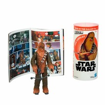 Star Wars Galaxy of Adventures Chewbacca Figure and Mini Comic - $9.49