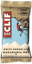 Clif Bar Energy Bar, White Chocolate Macadamia Nut, 2.4-Ounce Bars, Pack... - $23.48