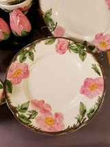 Dessert Rose - Salad Plate, Cup, Cream/Sugar, Salt/Pepper, Candle - Fran... - $6.85+