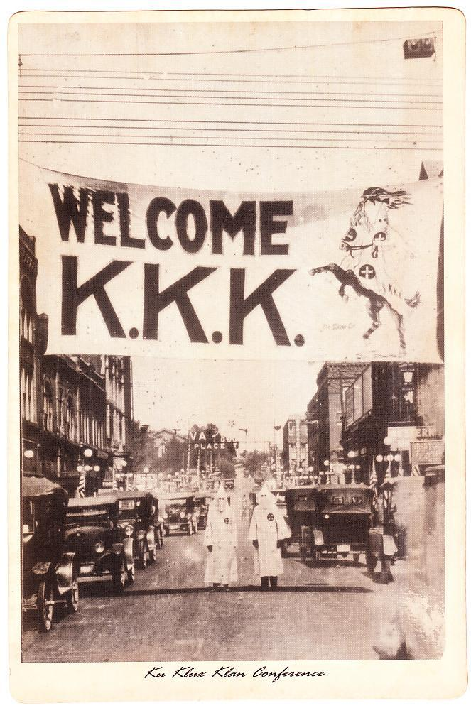 Ku Klux Klan Conference KKK Welcome Broadside, circa 1920s Virginia