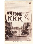 Ku Klux Klan Conference KKK Welcome Broadside, circa 1920s Virginia - $245.00