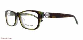 Michael Kors Women's Eyeglasses MK 3002 8001 Ravenna Tortoise/Green Plas... - $96.03