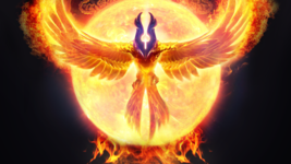 EGYPTIAN IMMORTAL PHOENIX SOUL of RA BIRD of the SUN and FIRE izida's Spell - $111.00