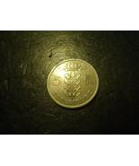 1949 BELGIQUE 5 FR COIN           >> USA SELLER  - $1.98